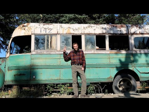 Visiting the Into the Wild Bus in Alaska From the Movie