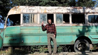 "Visiting the ""Into the Wild"" Bus in Alaska (From the Movie)"
