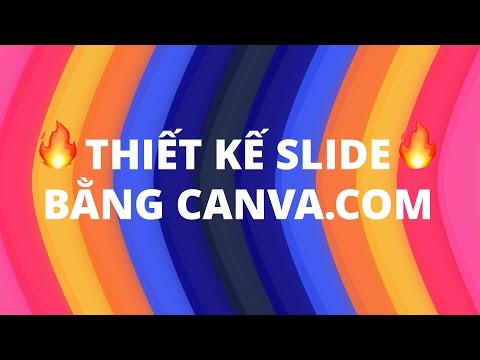 Thiết kế Slide PowerPoint chuyên nghiệp bằng CANVA | Không cần PowerPoint cũng làm được?