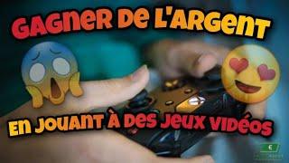 gagner de l'argent en jouant à das jeux vidéo pc xbox ps4 switch  argent facile