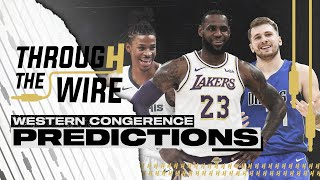 Western Conference Preview | Through The Wire Podcast