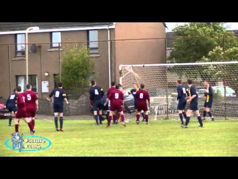 High Ormlie Hotspur v Top Joes. 27th June 2014