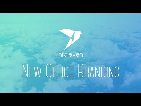 Infoleven's New Office Branding