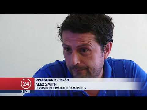 Habla ex asesor informático de Carabineros, Álex Smith