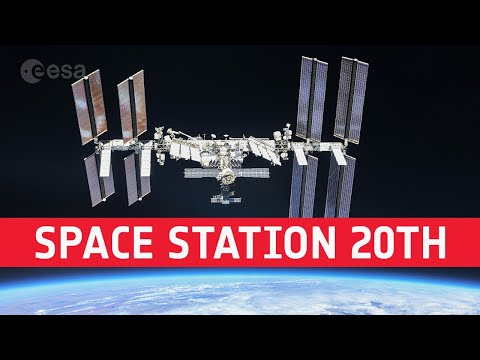 Space Station 20th: astronauts celebrate humans home in space