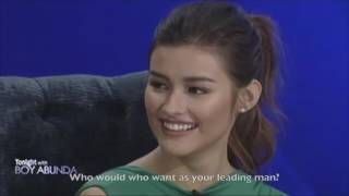 [Eng subs] TWBA: Fast Talk with Enrique Gil and Liza Soberano