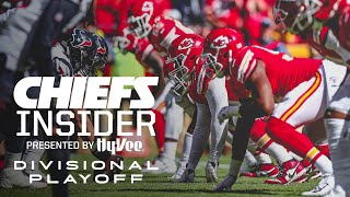 Inside the Divisional Playoff vs. Texans   Hy-Vee Chiefs Insider
