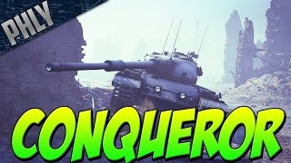 120MM HESH! CONQUEROR - British Heavy TANK (War Thunder Tanks)