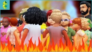 The 100 Toddler CHALLENGE! (The Sims 4)