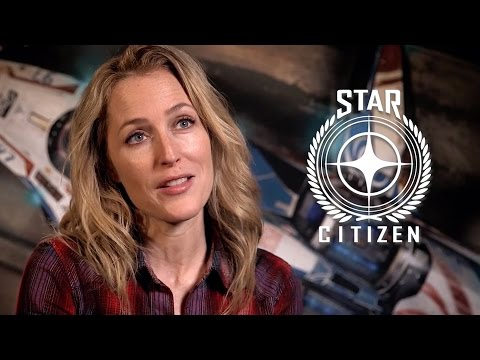 Gillian Anderson - Star Citizen Squadron 42: Behind the Scenes