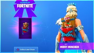 The New MERRY MUNCHKIN PET and HOW TO GET IT in 14 Days Of Fortnite!