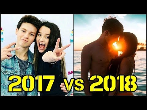 Top 10 Famous Musical Ly Couples 2017 vs 2018