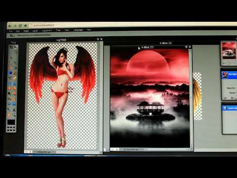 [ Photoshop ] Ghép Cánh Thiên Thần K-Binz