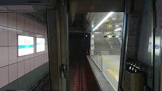 大阪メトロ 前面展望 四つ橋線 住之江公園~なんば 23系第10編成