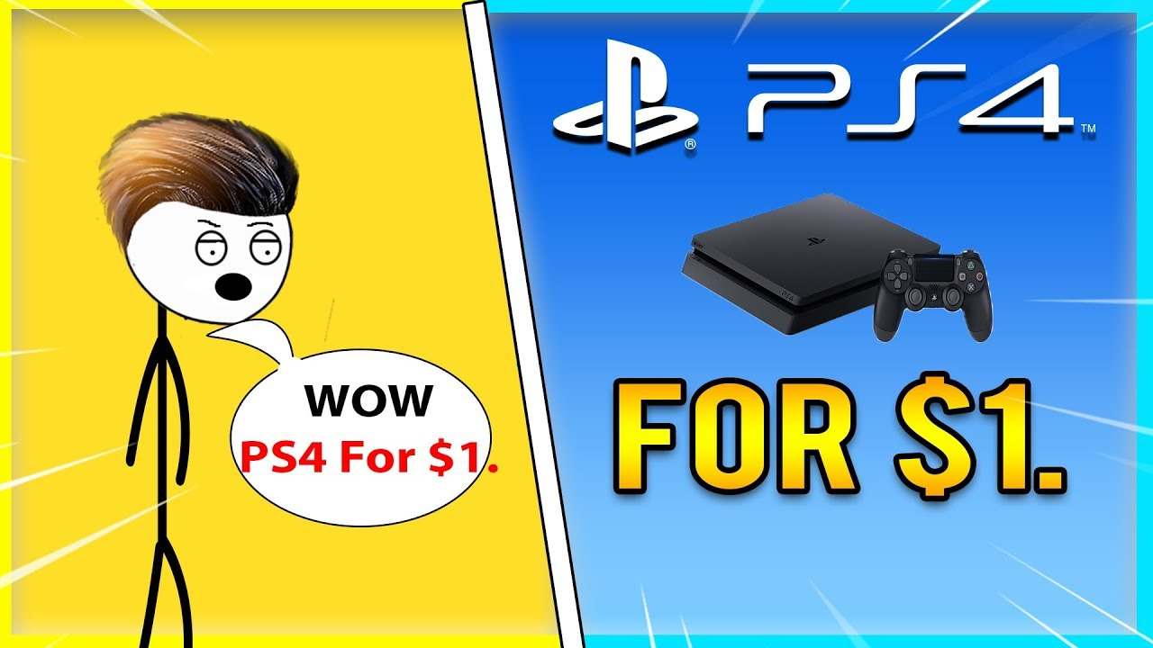 When A Gamer Bought A PS4 for $1