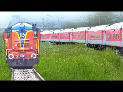 Journey on The RED Train Single line (Bangalore - Guntakal) : Indian Railways
