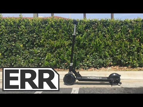 Glion Electric Scooter Model 200 Dolly Video Review