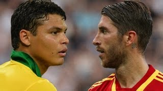 vuclip Thiago Silva vs Sergio Ramos