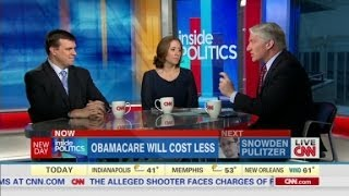 Inside Politics: Obamacare will cost less