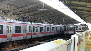 東横線内 東武9000系系列離合集