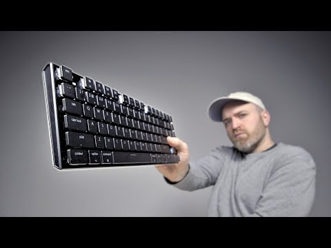 download The World's Thinnest Mechanical Keyboard