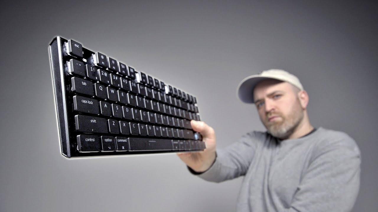 The World's Thinnest Mechanical Keyboard