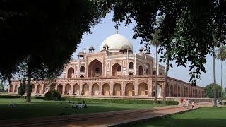 Visiting Humayun's Tomb, Historical Place in Nizamuddin, New Delhi, Delhi, India