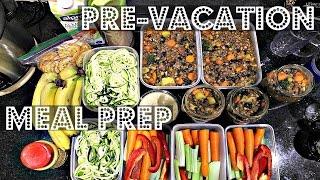 PRE-VACATION MEAL PREP (VEGAN, EASY, HEALTHY) ♥ Cheap Lazy Vegan