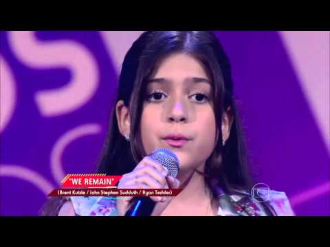 Marina Silveira canta 'We remain' no The Voice Kids - Audições|1ª Temporada