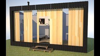 Tiny Prefab House - 3d Model