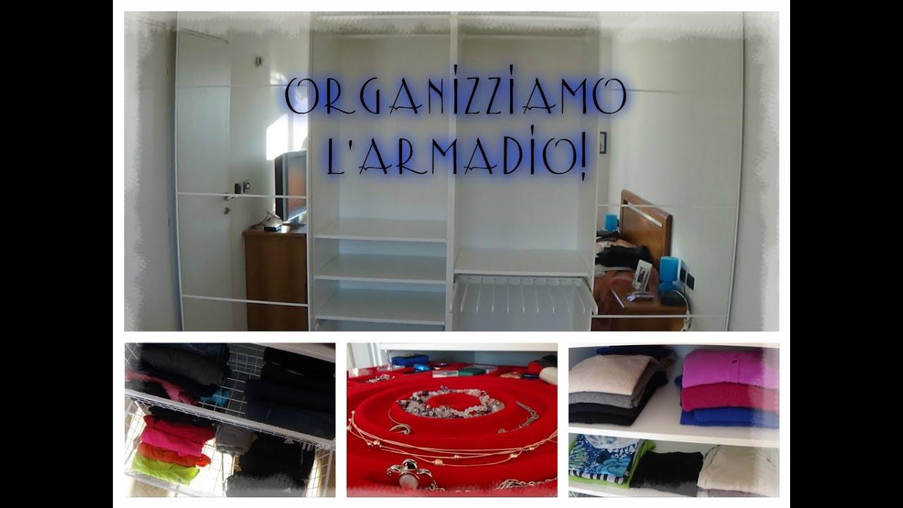 Organizzazione armadio ikea pax youtube - Ikea armadio cameretta ...