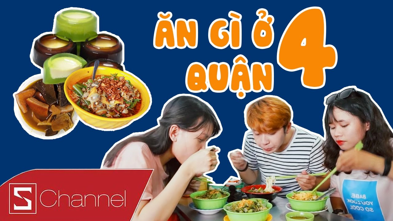 """HÔM NAY ĂN GÌ – Ăn hết Sài Gòn: Ăn cho """"tròn"""" Quận 4: Mì Ốc Hến, Phá Lấu, Bánh Flan…"""