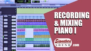 Record and Mixing Piano Part II