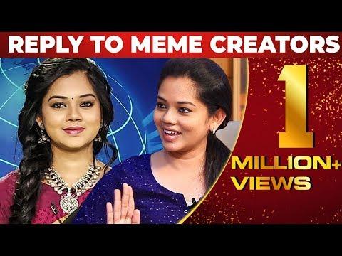"""Na Azhaga Than Iruken"" - Sun News Anchor Anitha Sampath Reply To Meme Creators | NPA 34"