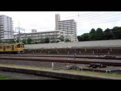 20130715 (HD) 西武拝島線 2000系 Seibu Haijima Line 2000 Series