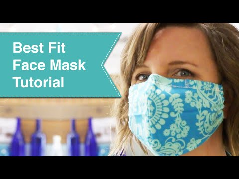 best-fit-face-mask-tutorial-video