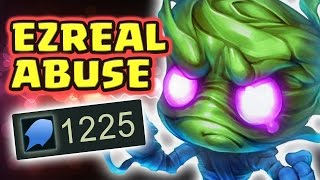 1200+ AP THE MOST INSANE 1 SHOTS ABUSING ENEMY EZREAL (FULL AP AMUMU JUNGLE) - Nightblue3