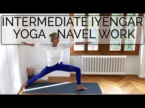 Iyengar Yoga Class. Naval Work. 67 min with CdR. Online Yoga Teaching #iyengaryoga