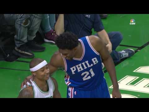 Philadelphia 76ers vs Boston Celtics | January 6, 2017 | NBA 2016-17 Season