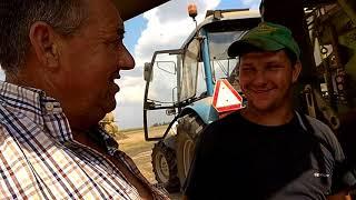 Żniwa w GR Brodziak 2018 #Najśmieszniejsze żniwa w Pl#Świnia je drożdżówkę#Żniwa z cytrynówka