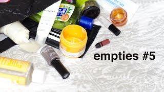 Beauty Empties #5   morerebe