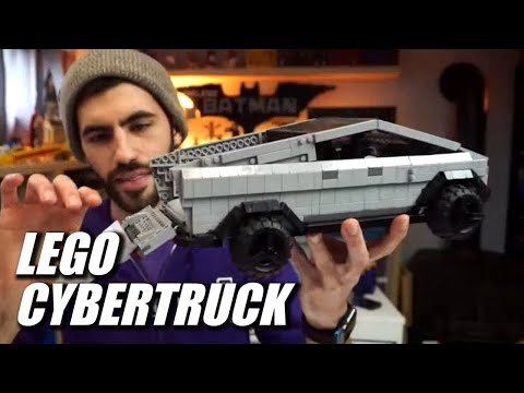 LEGO Tesla Cybertruck by BrickinNick