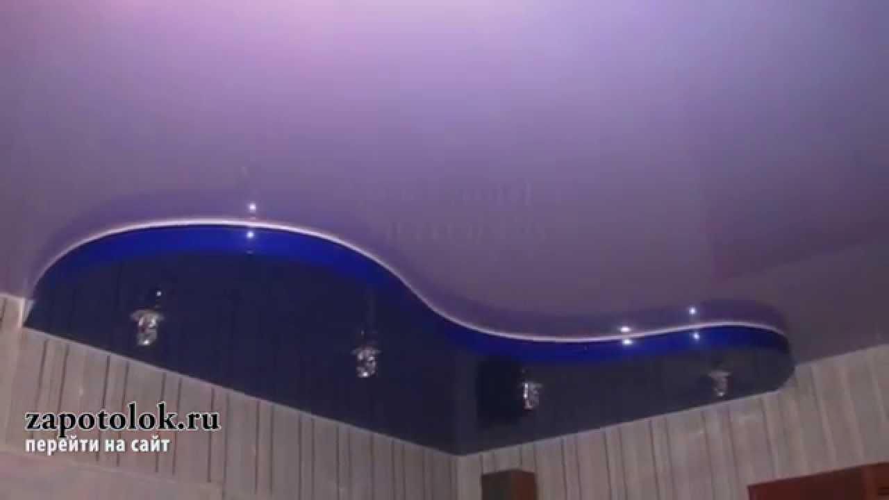 потолки натяжные расцветки фото
