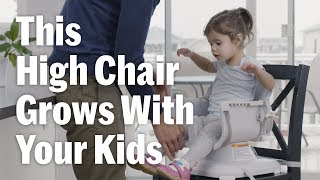 Fisher-Price SpaceSaver High Chair Grows With Your Kids