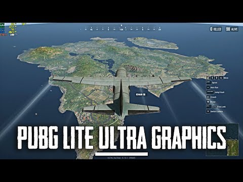 PUBG lite PC Ultra Graphics settings Gameplay (60FPS)
