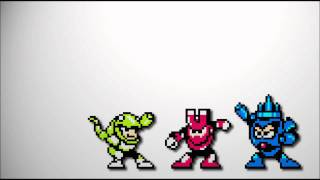 Mega Man III - Magnet Man, Needle Man & Snake Man (remix)