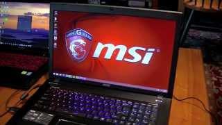 MSI Apache Pro GE70 2PE Laptop Overview