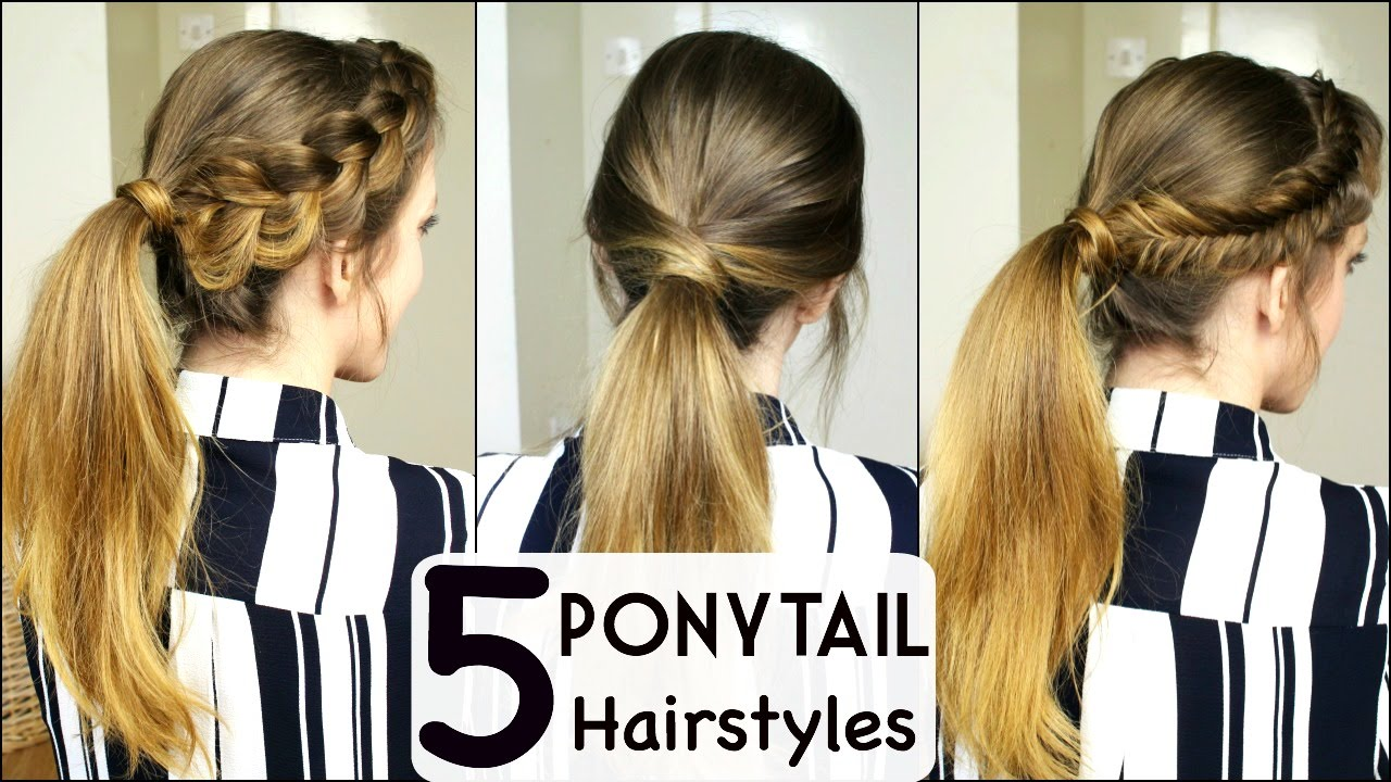 Summer Ponytails To Shine Under The Sun The Hairstyles Magazine
