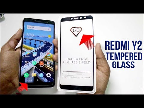 Redmi Y2 Tempered Glass. Two diffrent type tempered glass for Redmi Y2 |Hindi|