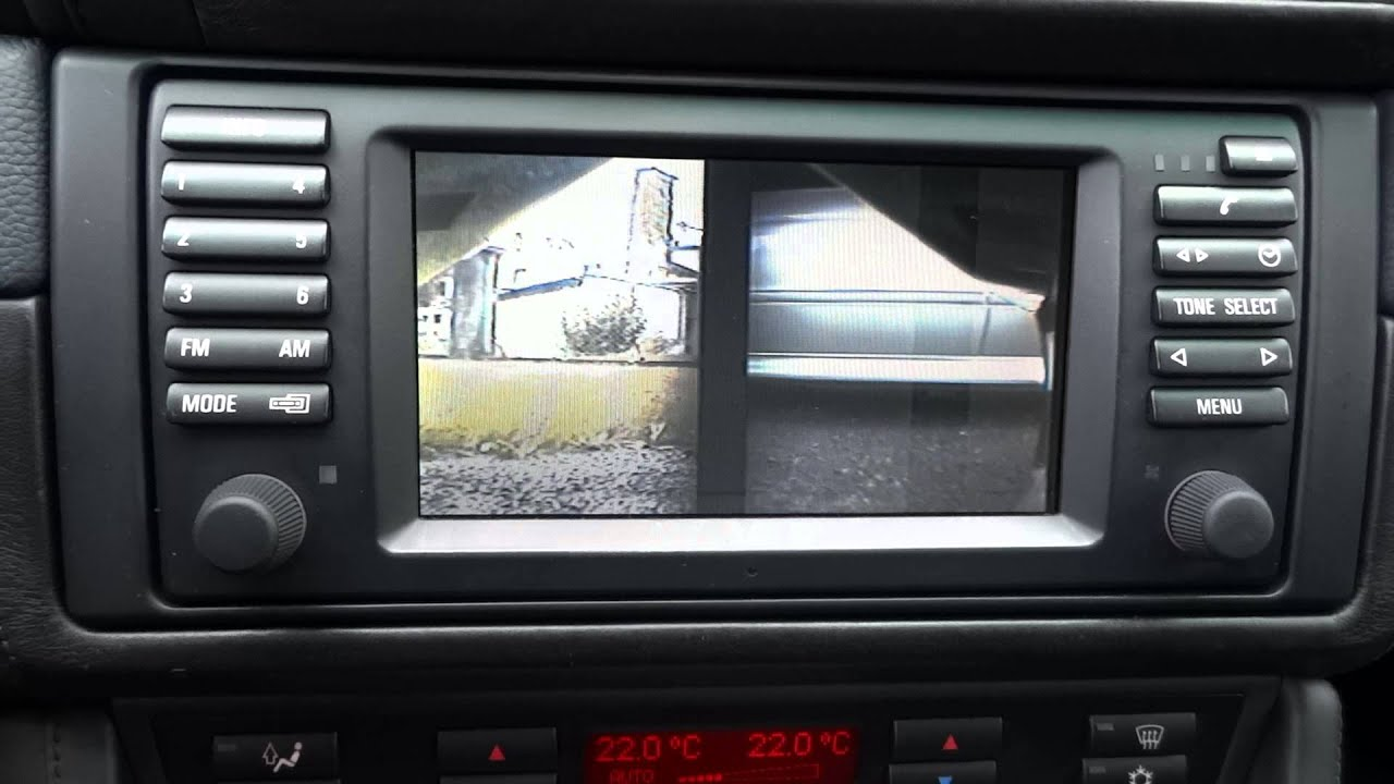 E39 Oem Front And Rear Camera Youtube